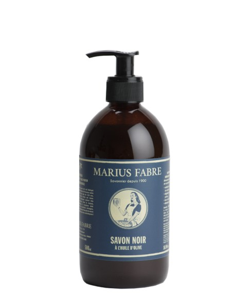 Le savon noir liquide Marius Fabre remplace de nombreux produits ménagers